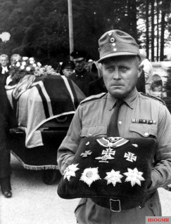 Ceremonial funeral of Field Marshal Kesselring.