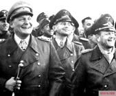 Hermann Göring, Hans Jeschonnek, and Erhard Milch.