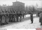 Leibstandarte march past the Fuhrer and commander Obergruppenfuehrer Sepp Dietrich, December 1935.