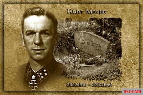 Memorial to Kurt Meyer.