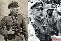 Panzermeyer on the war front.