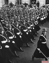 Guard Battalion of the Reich Chancellery of the Leibstandarte SS Adolf Hitler.