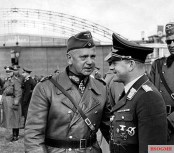 Walter von Reichenau (left) and Erhard Milch after the Western Campaign 1940.