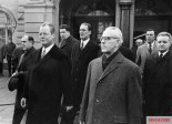 Willy Brandt and Willi Stoph in Erfurt, 1970, the first time a Chancellor met a GDR prime minister.