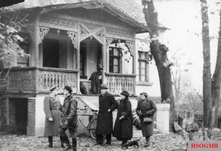 Resettled Baltic Germans take possession of their new homes in Warthegau after the forced abandonment by the legitimate Polish owners.