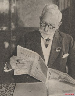 Wilhelm II in exile at the age of 75. Source: Bilder-Welt, January 21, 1934.