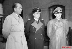 Albert Speer, Reich President Admiral Donitz, and Generaloberst Alfred Jodl.