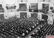 Volksdeutsche meeting in occupied Warsaw 1940.
