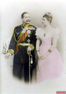 Wilhelm and his first wife Augusta Viktoria.