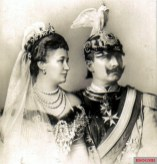 Wilhelm II with Auguste Viktoria.
