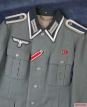 Example of the NCO Braid around the collar.