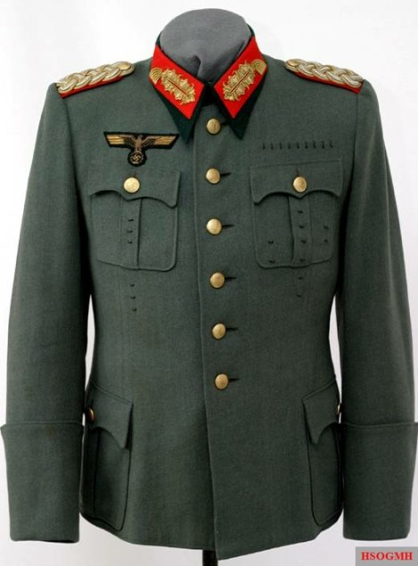 Hermann Bacher's uniform.