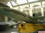 A V-1 and launching ramp section on display at the Imperial War Museum Duxford, 2009.