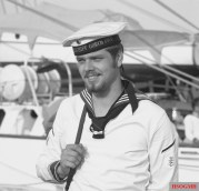 A sailor of the German Navy during the 1970s.