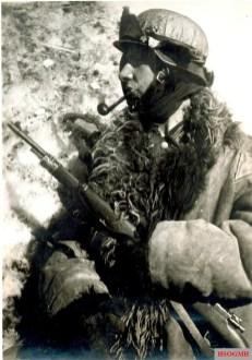 German sniper at Stalingrad.
