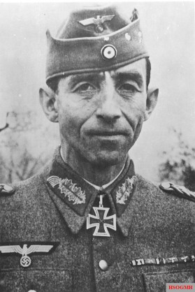 Most representative figure of the Cassino battles: General von Senger.