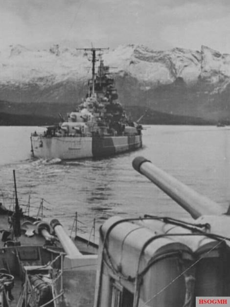 Battleship Tirpitz.