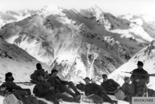 German Gebirgsjäger in the Caucasus.
