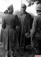 General der Panzertruppe Georg-Hans Reinhardt on the Russian Front during Unternehmen Barbarossa, Summer of 1941.