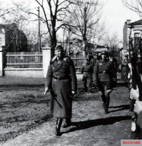 Generalfeldmarschall Erich von Manstein during the operation to rescue the German 6. Armee that trapped in Stalingrad.