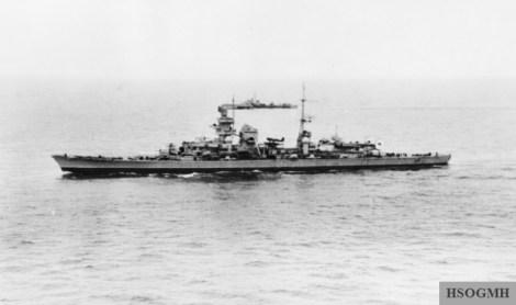 Prinz Eugen, May 1945.