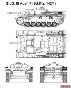 StuG III Ausf. F - Sd.Kfz 142/1.