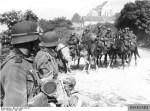 German mounted troops.