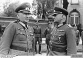 Curt Haase (right) with Field Marshal Erwin von Witzleben, 1941.
