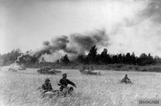 An attack by the division on the Eastern Front in August 1944.