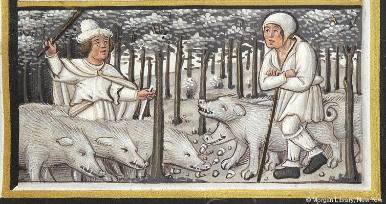 *Name: Pierpont Morgan Library. Manuscript. M.632. *Title: Fol. 011r, Month, Occupation: November. *Published/Created: Paris, France, ca. 1520