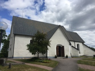 Villberga church exterior