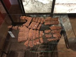 Gauntlet from the excavations of the Battle of Wisby