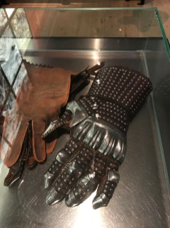 Reconstruction of gauntlet from the Battle of Wisby, made by Albert Collins
