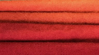 Madder dyed fabric