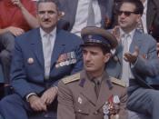 Decoraţii de la defilarea din Bucureşti de 23 august 1964