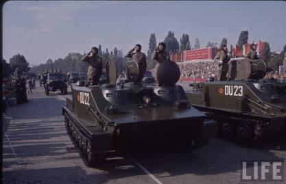 Defilarea în Bucureşti de 23 august 1964