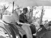 Elena Lupescu si Ernest Urdareanu in Bermuda, 1941
