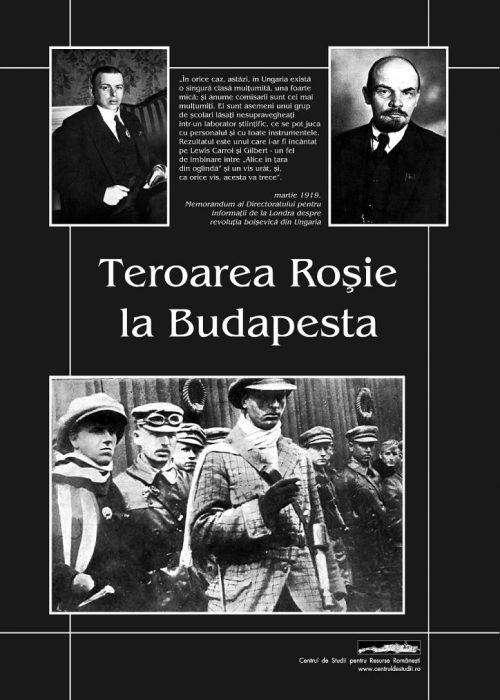 Teroarea roşie la Budapesta