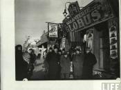 Stradă comercială în Chişinăul anului 1940