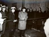 1966 - Nicolae Ceauşescu inaugurează Hidrocentrala de pe Argeş Fototeca online a comunismului românesc