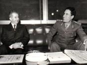 1974 - Nicolae Ceauşescu în Libia alături de Moammar Gaddafi Fototeca online a comunismului românesc