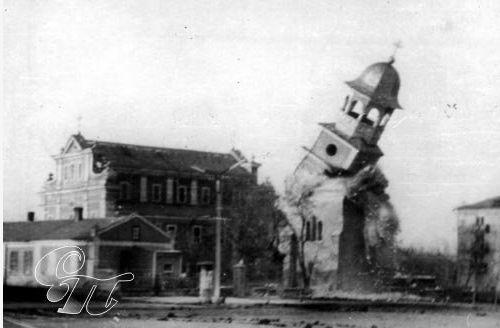 Demolarea catedralei Sfantul Nicolae din Balti