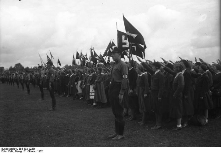 Sport şi sănătate pentru nemţoaice în epoca nazistă. Galerie foto