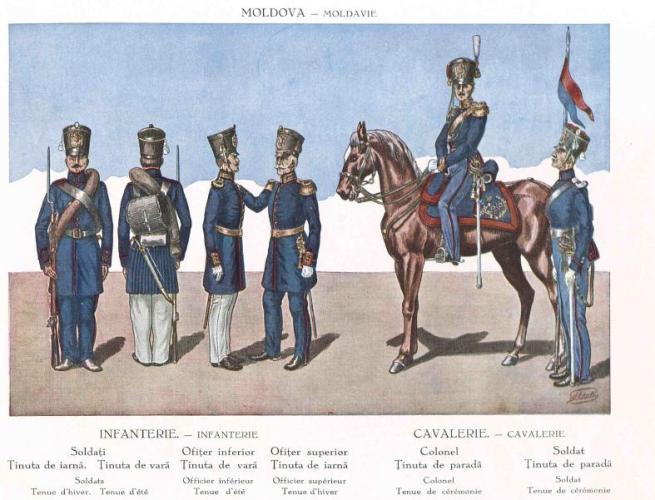 Galerie foto: uniformele armatei române de la 1830 la 1930