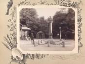 Monumentul lui Pușkin din Chișinău la 1889