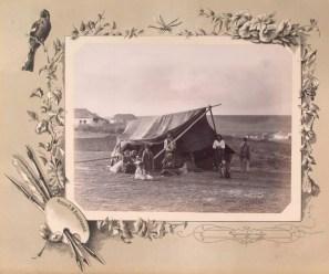 Țigani corturari din Basarabia la 1889