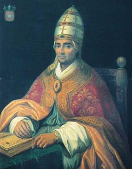Papa Benedict XII. Sursa foto.