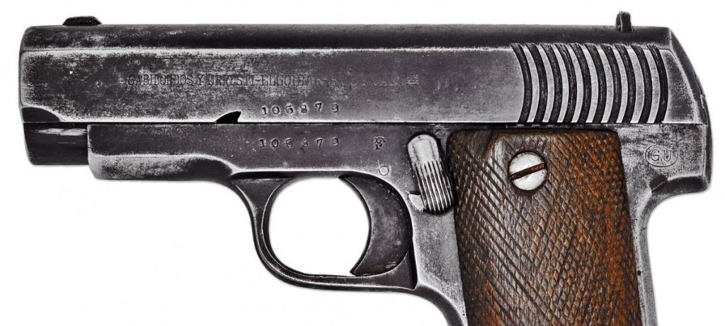 Ruby model 1915 - pistolul pragmatic al francezilor