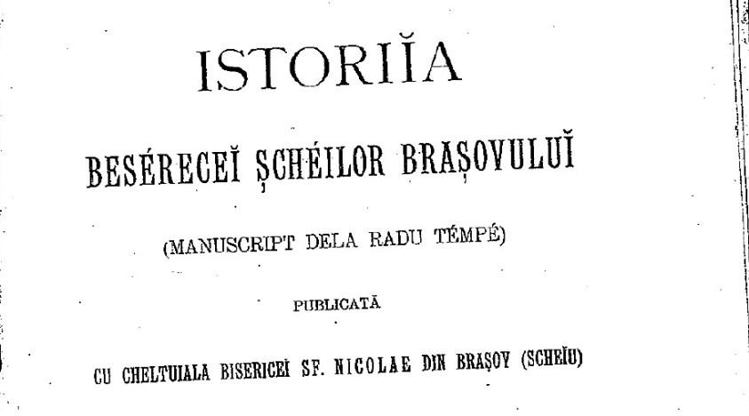 Cazul ciumei de la Brașov din 1718-1720