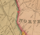 Map of Fairhill, 1843